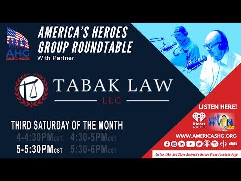 AHG with Tabak Law, PTSD Benefits, 6/19/21