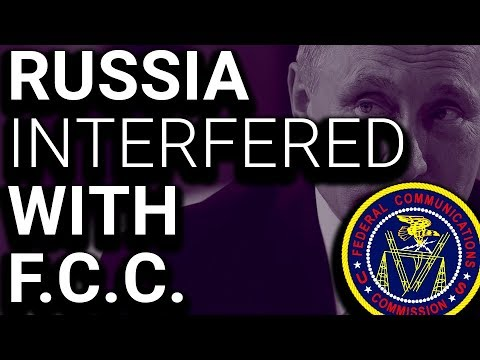 Trump FCC Chair Admits Russia Interfered in Net Neutrality Process Mp3