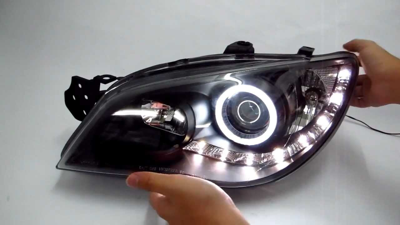 Custom Subaru Outback >> CrazyTheGod Impreza 2006-2007 CCFL Angel-Eye Projector R8 ...