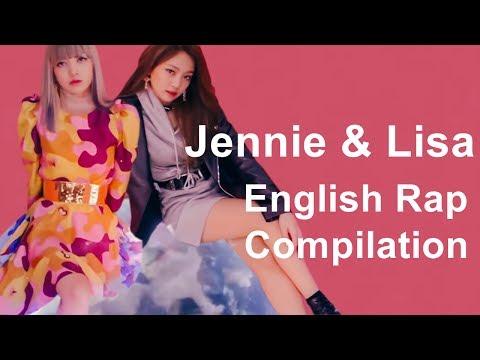 블랙핑크 제니&리사 영어랩 모음 Blackpink Jennie & Lisa English Rap Compilation