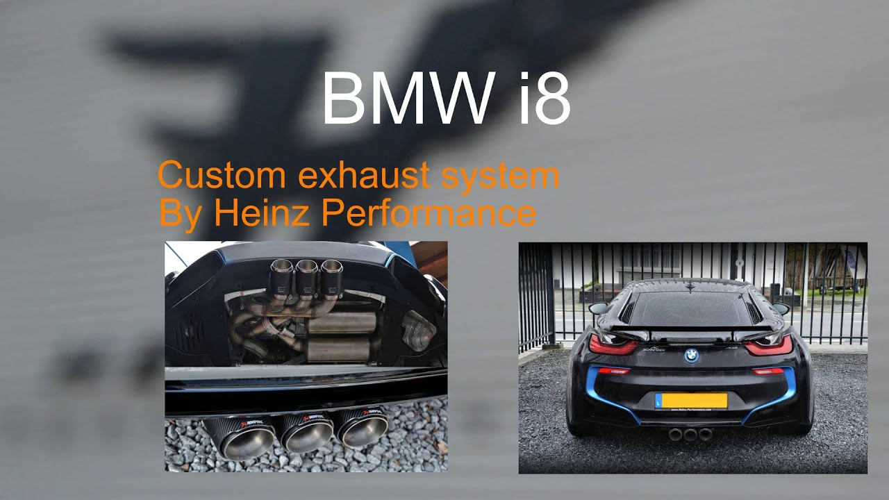 Heinz Performance Exhaust With Valve Control Bmw I8 Youtube