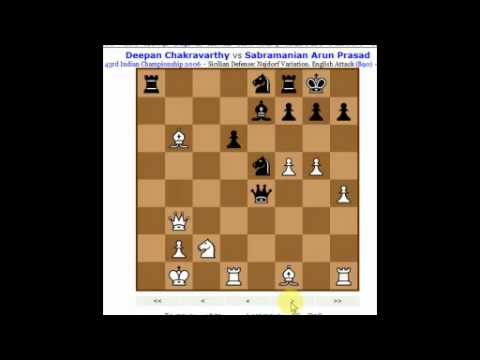 Sicilian Najdorf Variation Chess Opening Discussion (B90) from Livestream (Chessworld.net)