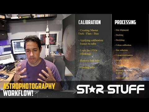 """Taking Photos of Space - The Whole Workflow Explained (with bonus RASA 8"""" images)!"""