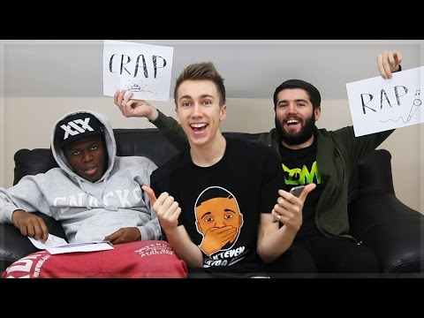 Thumbnail: RAP OR CRAP WITH JOSH AND JJ!