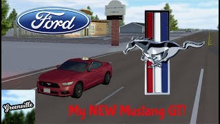 MY NEW FORD MUSTANG GT! || Roblox Greenville RP