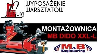 Montażownica do opon ciężarowa MB DIDO XXL-L