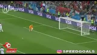 مباراة الارجنتين ضد كرواتيا