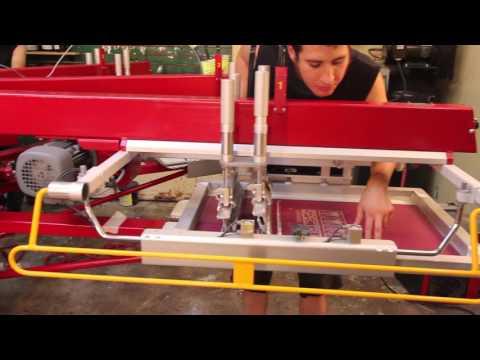 Anatol Horizon automatic screen printing press