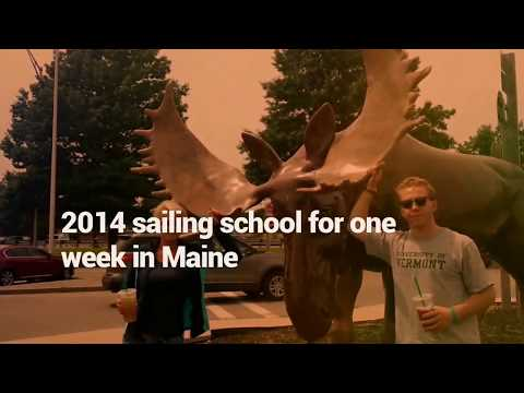2014 Sailing school on the Maine coast unbelievable