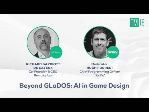 Beyond Glados: AI in Game Design- Time Machine 2018