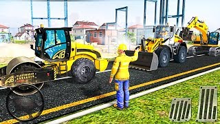 Excavator Simulator Road Builder - Road Construction Games 2018 - Best Android Gameplay