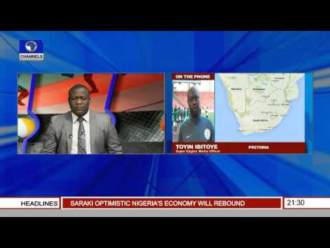 Sports Tonight Eagles Media Officer Gives Update On Camp From Pretoria Pt 2