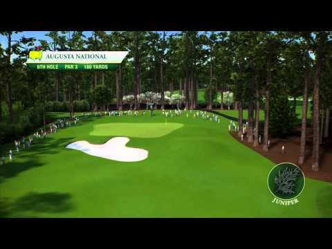 Course Flyover: Augusta National Golf Club's 6th Hole