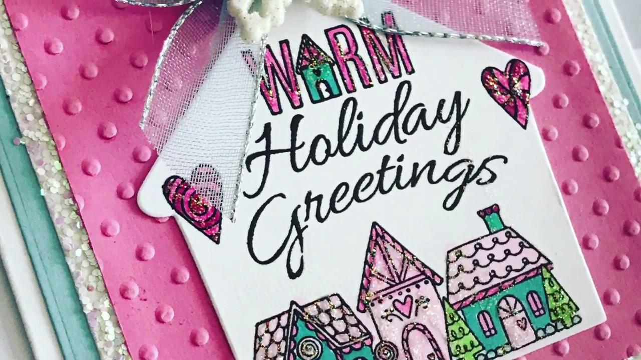 Sizzix warm holiday greetings handmade christmas cards december sizzix warm holiday greetings handmade christmas cards december 2017 kristyandbryce Gallery