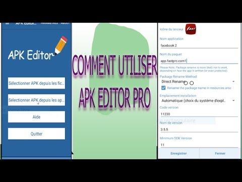 APK Editor Pro: dupliquer, traduire et changer les icônes de vos applications