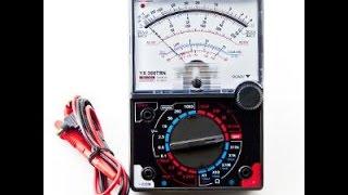 Đồng hồ đo điện đa năng, hướng dẫn sử dụng.