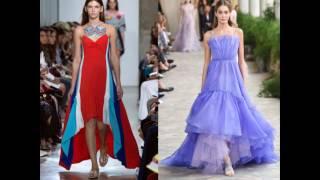 Платья для торжества 2017