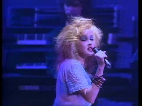 """""""TRUE COLORS""""-(Cyndi Lauper, Live in Paris)."""