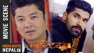 Kidnap Scene | Nepali Movie LALTEEN | Nirjan Thapa, Dayahang Rai