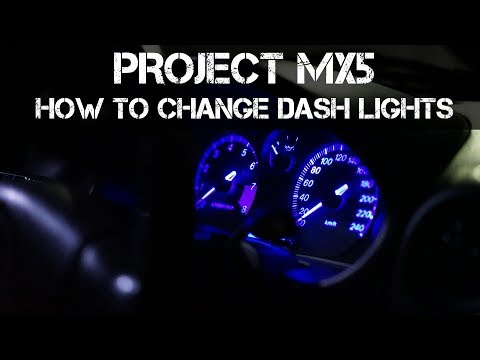 How To Change Your Dash Cluster Lighting