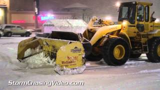 2/20/2014 Twin Cities Overnight Blizzard Footage