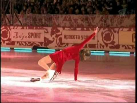 Ekaterina Gordeeva / 2007 Red square show in Moscow