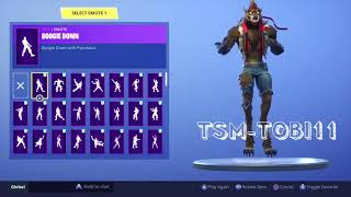 *UNLOCKED* PHASE 3 of the LOBUNO Skin + 104 FORTNITE Dances Which One Fits Best?