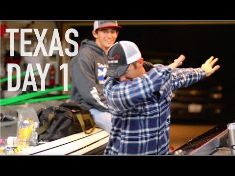Texas Bass Fishing Trip: Day 1 -- VLOG #16