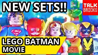 LEGO Batman Movie MORE 2018 RUMORS! 3 NEW SETS! Justice League Party! Bat-Space Shuttle! Harley!