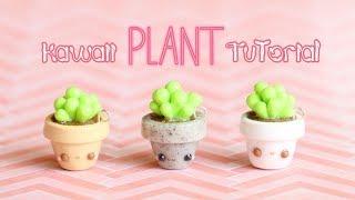 Easy Kawaii Plant│Polymer Clay Tutorial
