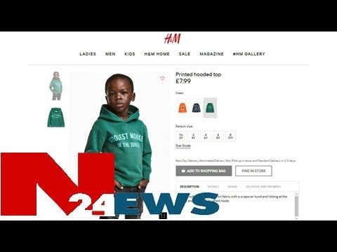 H&m stores ransacked in south africa over 'racist' hoodie ad