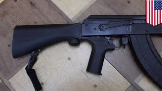 Bump stock animation: How bump stocks turn semis into even more dangerous weapons - TomoNews