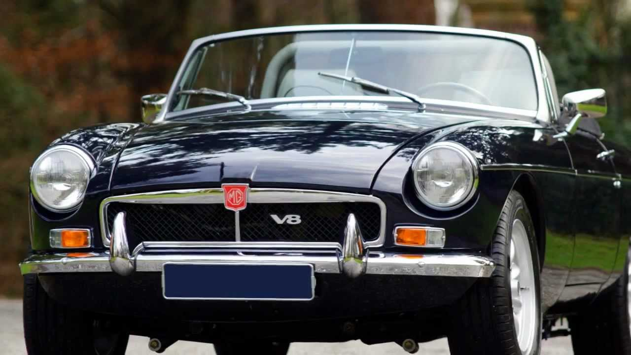 1972 MG MGB V8 roadster with fantastic engine sound