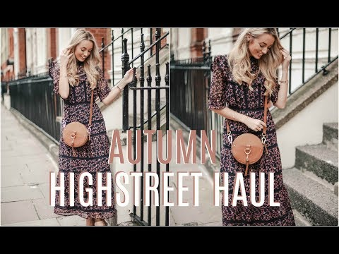 AUTUMN HIGHSTREET HAUL 🍂 River Island, Topshop, New Look & More!  🍂 Fashion Mumblr