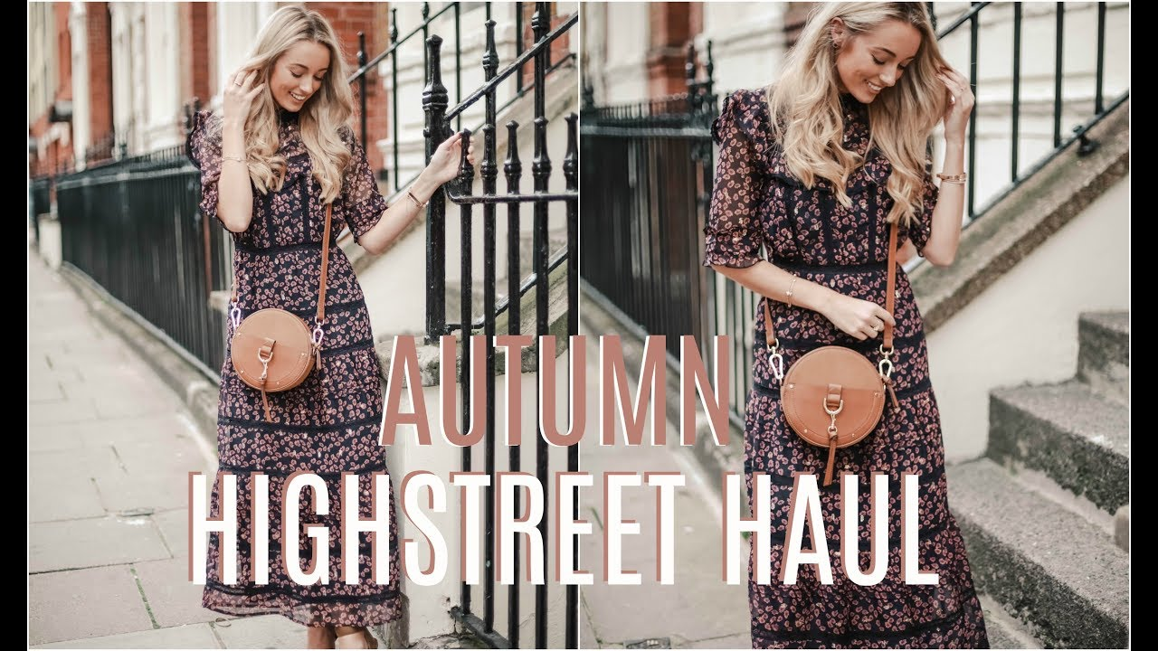 [VIDEO] - AUTUMN HIGHSTREET HAUL 🍂 River Island, Topshop, New Look & More!  🍂 Fashion Mumblr 1