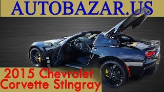 2015 Chevrolet Corvette Stingray Z51 видео.  Тест драйв Шевроле Корвет Cтингрей 2015.