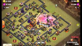 Clash of Clans | WAR BASE DEFENSE Town Hall 10 Best Defense thay can't get 3 star On War base