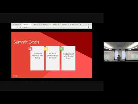 Blockly Developer Summit 2019: Welcome