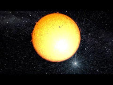 A massive pulsar irradiates a Solar-type star