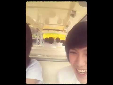 TiNa - นั่งรถกอฟมาลงทะเบียน 555 on Jun 15