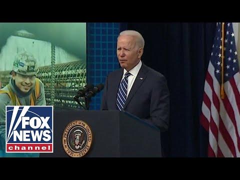 Biden falls short of projections for his jobs plan