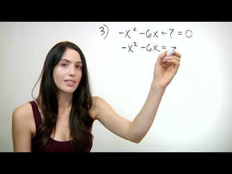 How to Solve By Completing the Square (NancyPi)