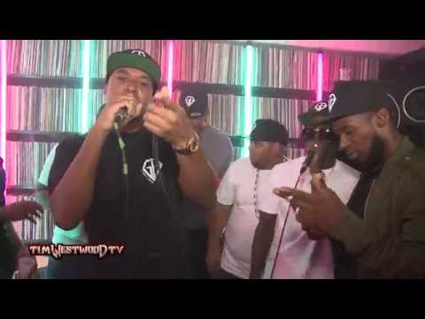 Corleone & GB Records freestyle - Westwood Crib Session