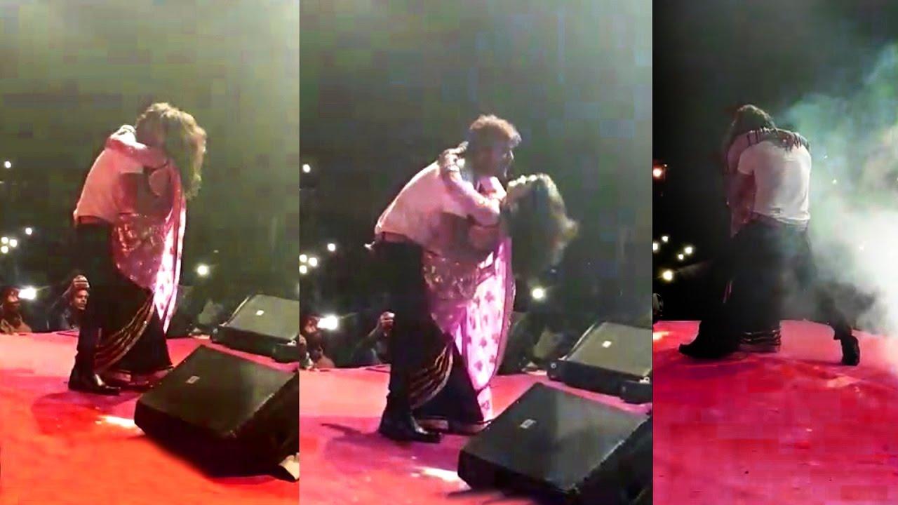 Download Nisha Dubey - Live Dance Performance In Nepal With Khesari Lal Yadav
