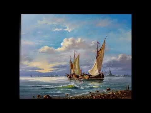Картины моря с кораблями