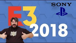 Sony Playstation E3 Press Conference 2018: My thoughts and discussion....