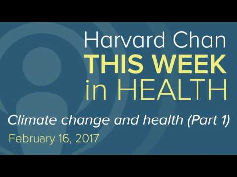 Climate change and health (part 1)