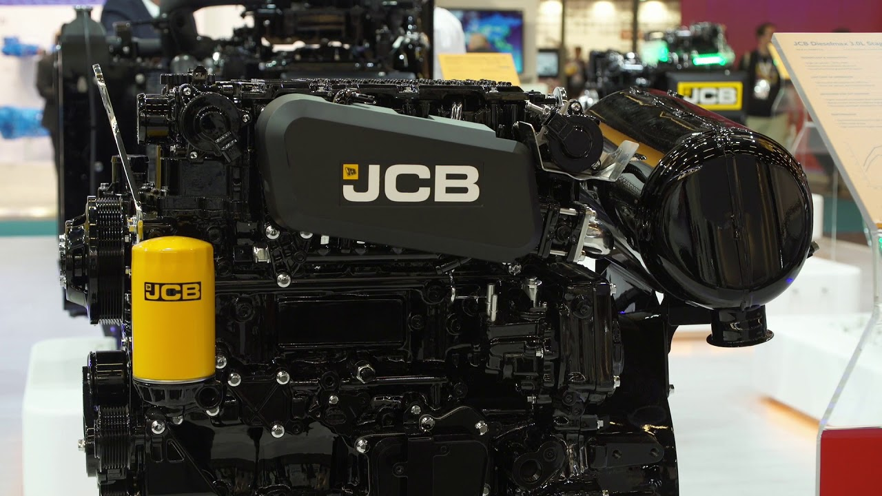 JCB Power Systems EU Stage V engines at Intermat 2018