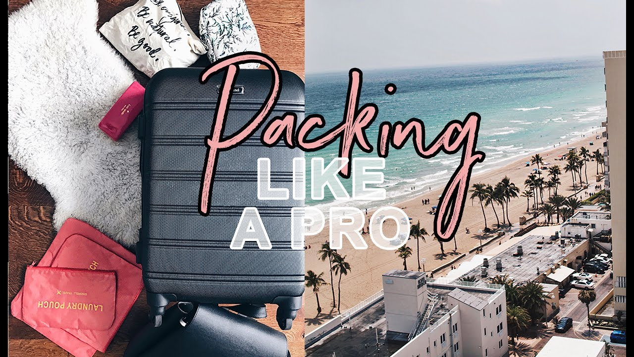9ad922022a02 Pack Like A Pro Beach Vacation + Carry On | Antonnette - YouTube