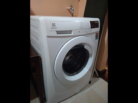 Tutorial cara gunakan mesin cuci Electrolux